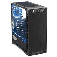 SilentiumPC Armis AR3 TG-RGB Pure Black - Počítačová skříň