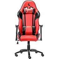 SilentiumPC Gear SR300 červená - Herní židle