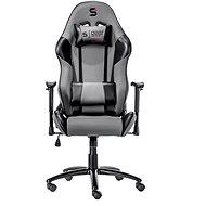 SilentiumPC Gear SR300 šedá - Herní židle
