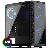 SilentiumPC Signum SG1X TG RGB - Počítačová skříň