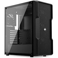 SilentiumPC Regnum RG6V TG Pure Black - Počítačová skříň
