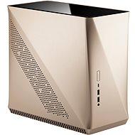 Fractal Design Era ITX Gold Tempered Glass - Počítačová skříň