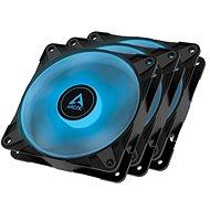 ARCTIC P12 PWM PST RGB 0dB Value pack (3ks) Black - Ventilátor do PC