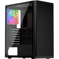 SilentiumPC Ventum VT2 TG ARGB Black - Počítačová skříň