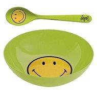 ZAK Snídaňový set SMILEY 17cm, zelený - Sada