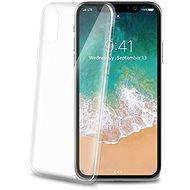CELLY Ultrathin pro iPhone X bílý - Ochranný kryt