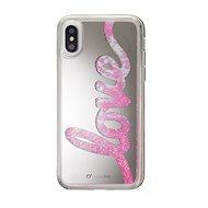 Cellularline Stardust pro Apple iPhone X motiv Love