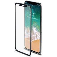 CELLY Glass pro iPhone X/XS černé - Ochranné sklo