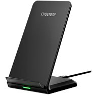 ChoeTech Wireless Fast Charger Stand 10W Black - Bezdrátová nabíječka
