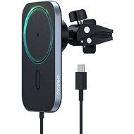 ChoeTech Magnetic Holder Wireless Car Charger 15W Black - Bezdrátová nabíječka