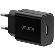 ChoeTech Smart USB Wall Charger 12W Black - Nabíječka do sítě