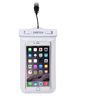 ChoeTech Waterproof Bag for Smartphones White - Pouzdro na mobil