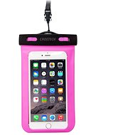 ChoeTech Waterproof Bag for Smartphones Pink - Pouzdro na mobil