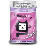 Bazyl Ag+ Compact Bentonite Lavender 20L - Cat Litter
