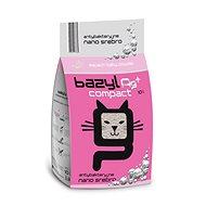 Bazyl Ag+ Compact Bentonite Baby Powder 10L - Cat Litter