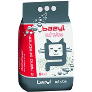 Bazyl Ag+ Compact Bentonite White 5L - Cat Litter