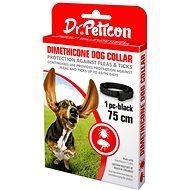 DR.Peticon obojek proti klíšťatům a blechám pro větší psy 75 cm