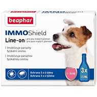 Beaphar Line-on IMMO Shield for Dogs S - Antiparasitic Pipette