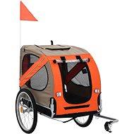Shumee Bike Trolley for Dog, Brown-orange - Bike Trolley