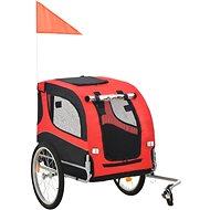 Shumee Wheel Trolley for Dog Red-black - Bike Trolley