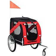 Shumee Wheel Trolley for Dog Black-red - Bike Trolley