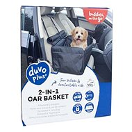 DUVO + Car Seat for Dog Black 2-in-1 45 × 39 × 30cm - Dog Carriers
