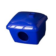 PetPlast House Plastic Blue 13 × 11 × 11cm - House for Rodents