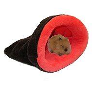 Marysa 2v1 mini pro hlodavce a fretky tmavě šedý/růžový - Tulipytlík