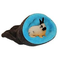 Marysa 2v1 mini pro hlodavce a fretky tmavě šedý/modrý - Tulipytlík