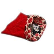 Marysa 3v1 pro fretky červený/červená kolečka - Tulipytlík