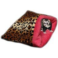Marysa 3v1 pro fretky leopard/tmavě růžový - Tulipytlík