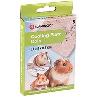 Flamingo Ceramic Cooling Mat for Rodents S 12 × 8 × 0.7cm - Cooling Pad for Rodents