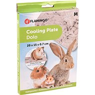 Flamingo Ceramic Cooling Mat for Rodents M 20 × 15 × 0.7cm