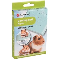Flamingo Cooling Pad for Rodents Plastic with Inner Filling 14 × 10 × 1.6cm - Cooling Pad for Rodents