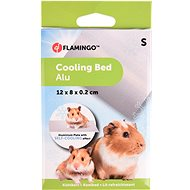 Flamingo Aluminium Cooling Pad for Rodents S 12 × 8 × 0.2cm - Cooling Pad for Rodents