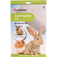 Flamingo Aluminium Cooling Pad for Rodents L 30 × 20 × 0.2cm