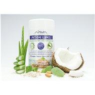 Arava Vlhčené ubrousky na čištění očního okolí 9 × 12 cm, 100 ks - Hygienické ubrousky pro psy