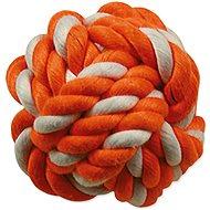 DOG FANTASY Cotton Ball Orange-White 12.5cm