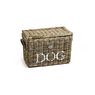 Pet Amour Rattan Cube Basket for Dogs and Cats 56 × 31 × 37cm - Basket