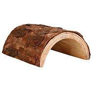 Huhubamboo Wooden Tunnel 16 × 8 × 20cm - Climbing Frame for Rodents