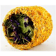 Ham Stake HL Herbal Tunnel with Marigold and Mallow 9cm - Dietary Supplement for Rodents