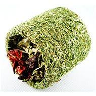 Ham Stake HL bylinný tunel se zeleninou a ibiskem 9 cm - Doplněk stravy pro hlodavce