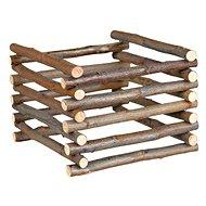 Huhubamboo Natural Free-standing Nursery 15 × 11 × 11cm. - Hay Rack