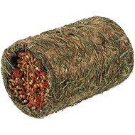 Nature Land Nibble Tunel ze sena plněný mrkví 125 g - Doplněk stravy pro hlodavce