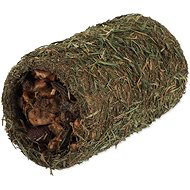 Nature Land Nibble Hay Tunnel Filled with Fruit 125g - Dietary Supplement for Rodents