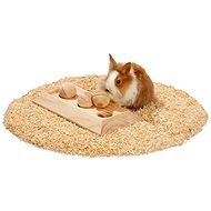 Karlie Interaktivní dřevěná hračka 30 × 15 × 6 cm - Hračka pro hlodavce