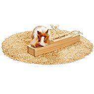 Karlie Interaktivní dřevěná hračka 6 kostek, 37,5 × 8,5 × 6,5 cm - Hračka pro hlodavce