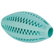 Trixie DentaFun Rugby Ball with Mint 11cm - Dog Toy