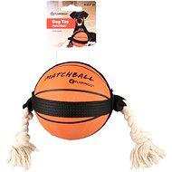 Flamingo Akční míč basketball 12,5 cm - Hračka pro psy
