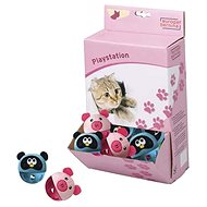 Ebi Cat Play Animal Head roller 5 cm - Hračka pro kočky